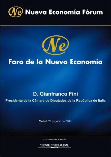 FORO DE LA NUEVA ECONOMÍA - Nueva Economía Fórum
