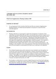 Wind Farm Supplementary Planning Guidance 2009 - Ayrshire Joint ...