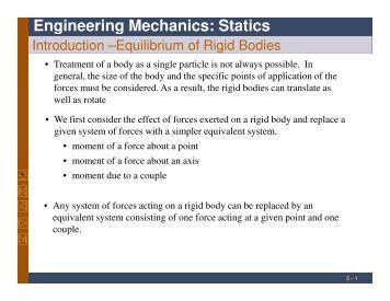 Engineering mechanics statics bedford