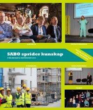 Utbildningskatalogen 2013 - Sabo