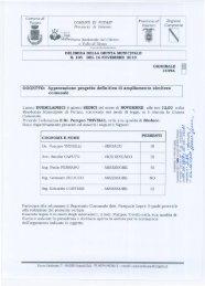 OGGETTO:Approvazione progetto definitivo di ... - Comune di Futani