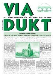 der ANKER - Bürgerverein Möckern-Wahren e.v.