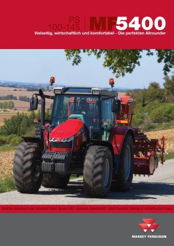 PS 100-145 MF5400 - Massey Ferguson