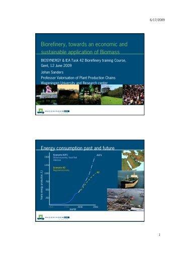 Food - Biorefinery