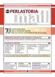 Le leggi razziali sui giornali italiani e nel dibattito pubblico - Altervista
