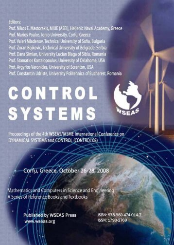 control systems - WSEAS