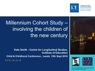 involving the children of the new century - Sociology and Social Policy