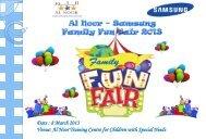 Date : 8 March 2013 Venue: Al Noor Training Centre for Children ...