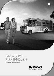 Download Hauptpreisliste/Technische Daten Premium ... - Dethleffs