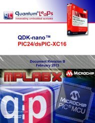 QDK-nano PIC24/dsPIC-XC16 - Quantum Leaps