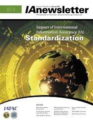 Vol 8 No 4.indd - IAC - Defense Technical Information Center