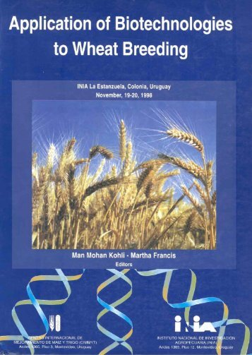 Application of Biotechnologies to Wheat Breeding - cimmyt