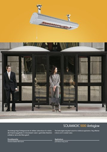 SOLAMAGIC 1000 Ambiglow - Markisen-kauf.de