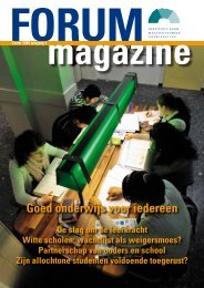 FORUMmagazine, zomer 2009