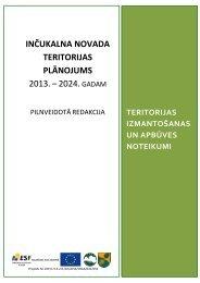 teritorijas izmantošanas un apbūves noteikumi - Inčukalns.lv