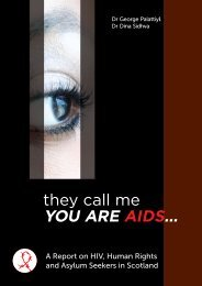 A Report on HIV, Human Rights and Asylum ... - Waverley Care
