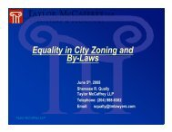 Equality in City Zoning and By-Laws - Canadian Mental Health ...