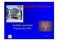 Ventilator assoziierte Pneumonien