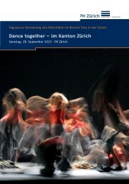 Dance together – im Kanton Zürich