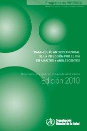 Tratamiento Antirretroviral de la Infección por el VIH en Adultos y ...