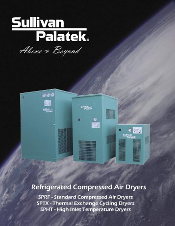 Refrigerated Brochure.indd - Pacific Air Compressors
