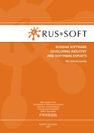 Survey of the Russian Software Export Industry