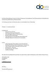 Die AIC Bernd Reifers GmbH operiert seit mehr als 15 Jahren als ...