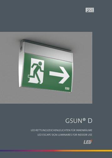 Datenblatt GSUN D