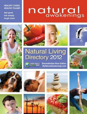 Natural Living Directory 2012 - Natural Awakenings
