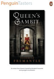 Read the opening pages of Queen's Gambit by ... - Penguin Books