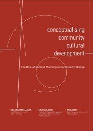 Download Conceptualising Community Cultural Development