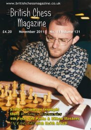 View November 2011 issue (pdf) - Chess Direct Ltd