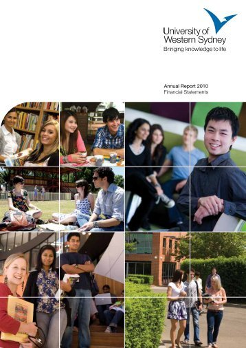 Annual Report 2010 - University of Western Sydney