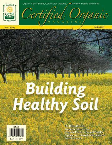 Spring 2009 Magazine - CCOF
