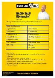 Wildragout mit marinierten Orangenfilets in ... - Radio Salü