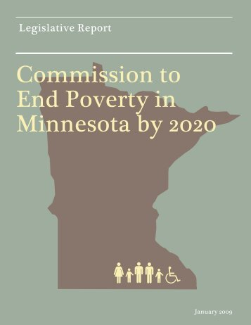Commission to End Poverty in Minnesota by 2020 - Joint ...