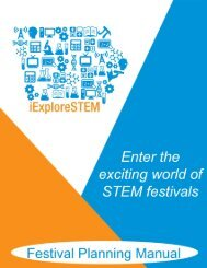 iExploreSTEM Manual - State Hygienic Laboratory - The University ...