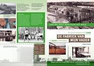 DE FABRIEK VAN MIJN VADER - de website over het boek