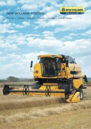 NEW HOLLAND TC5OOO