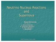 Neutrino Nucleus Reactions and Supernova