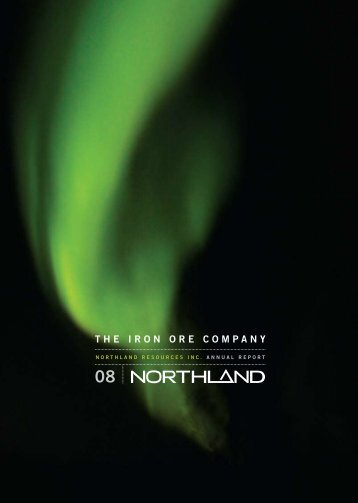 May 1, 2008 2007 Annual Report - Northland Resources