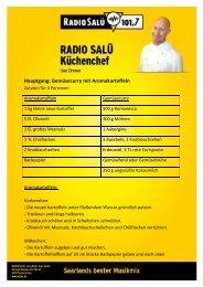 Hauptgang: Gemüsecurry mit Aromakartoffeln - Radio Salü