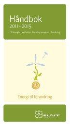 HÃ¥ndbok for tillitsvalgte 2011 - 2015 - El og it forbundet