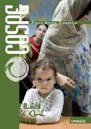 Bilan Social FR 2010 - Cospe