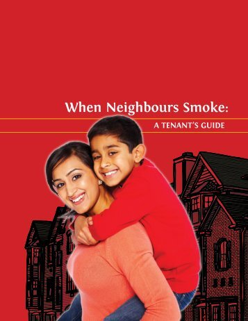 when Neighbours Smoke: - Non-Smokers' Rights Association