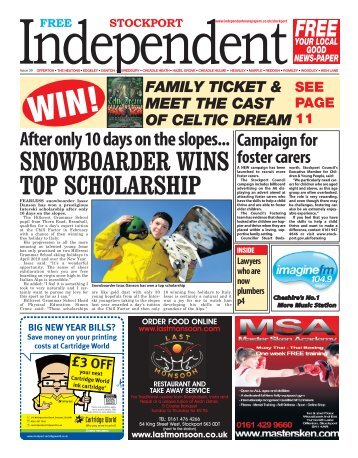 SNOWBOARDER WINS TOP SCHOLARSHIP - Free2Read