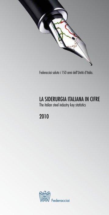 La siderurgia Italiana in cifre - Fiom
