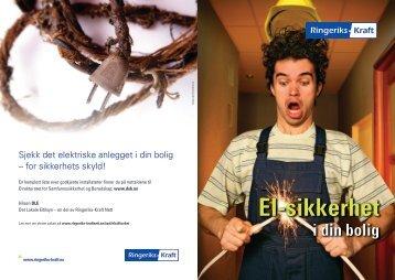 El-sikkerhet i din bolig - Ringeriks-Kraft