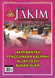 jakim bantah penggunaan kalimah allah oleh bukan islam jakim ...