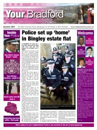 Police set up 'home' in Bingley estate flat - West Yorkshire Police